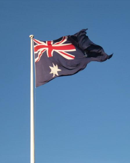 blog voyager seule drapeau australien