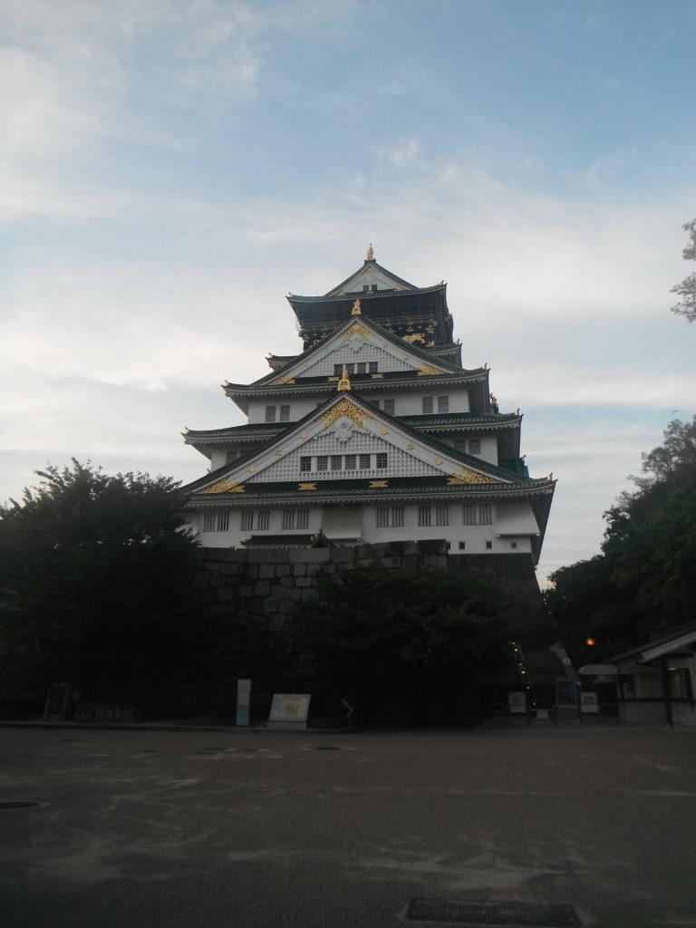 blog voyager seule château osaka japon