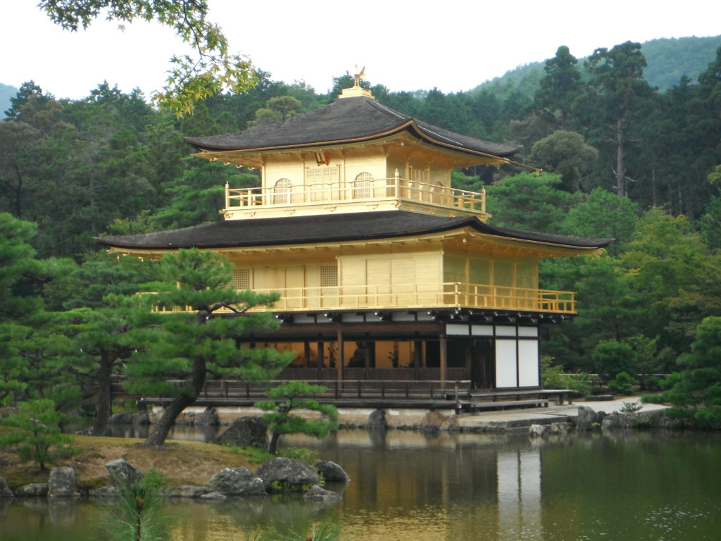 blog voyager seule temple kinkaku kyoto japon