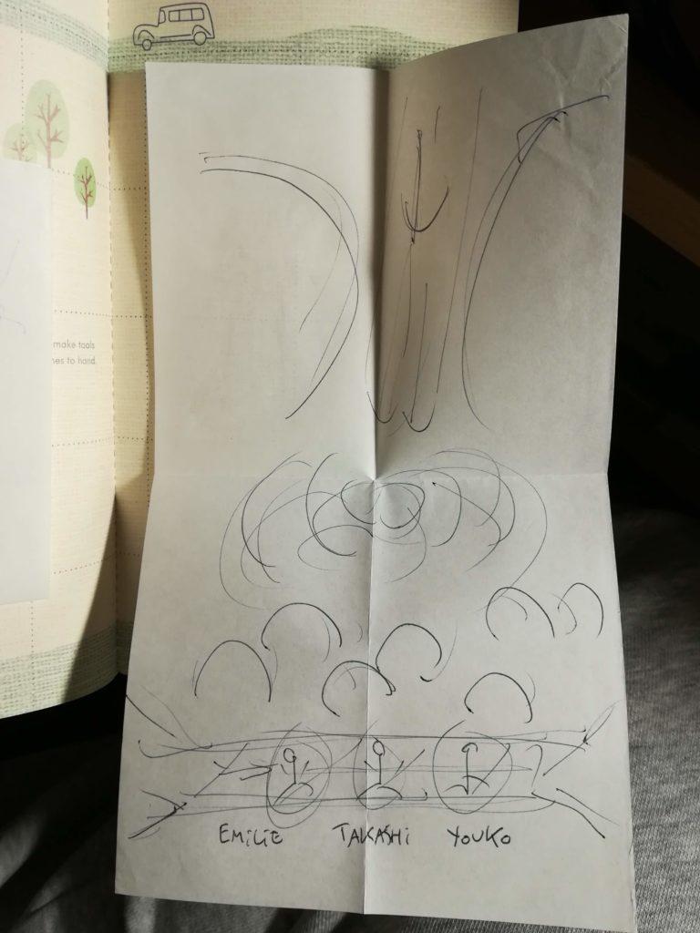 blog voyager seule dessin niigata