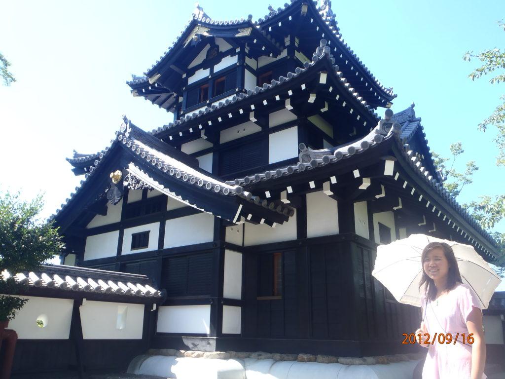 blog voyager seule château niigata japon