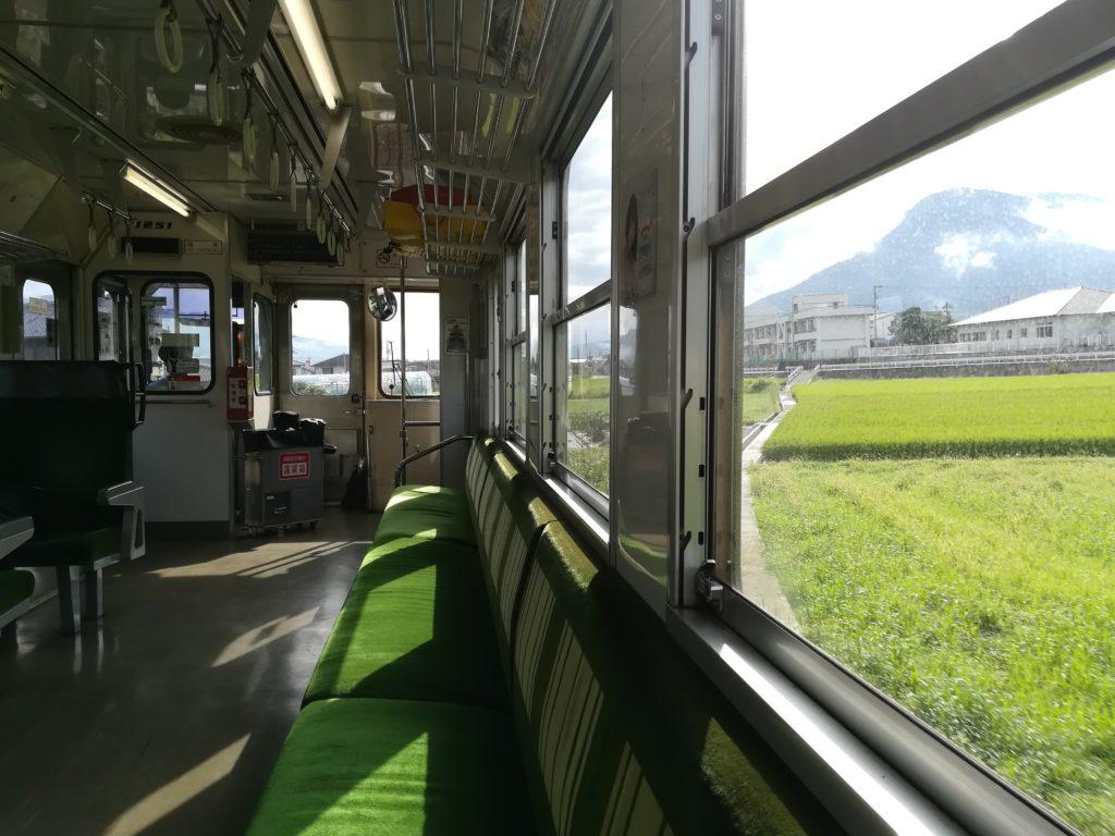 blog voyager seule shikoku train