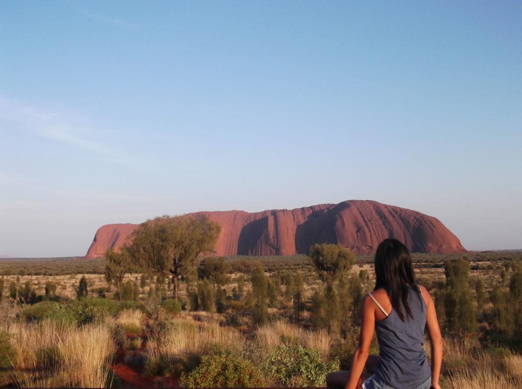 blog voyager seule ayers rock uluru australie