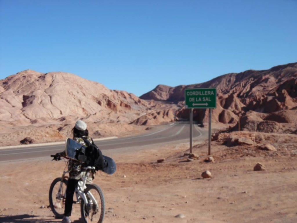 vélo désert de atacama chili