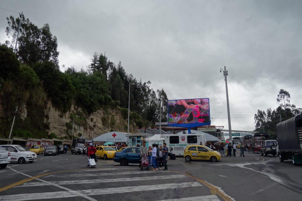 blog voyager seule croix rouge colombienne Ipiales